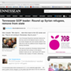 The Tennessean Embeds Secret Message in URL