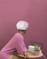 NAKEYA BROWN - Self-portrait in Shower Cap