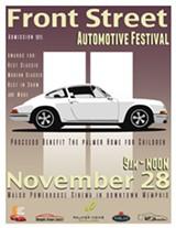 Front Street Automotive Festival Flyer - Uploaded by Jon Luke Cave