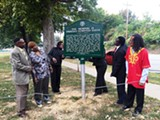 BIANCA PHILLIPS - Six of the Memphis 13 - at the Springdale - marker