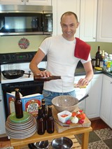 PHOTO: STEVEN TROHA - Ultimate Beer Lovers Cookbook author John Schlimm