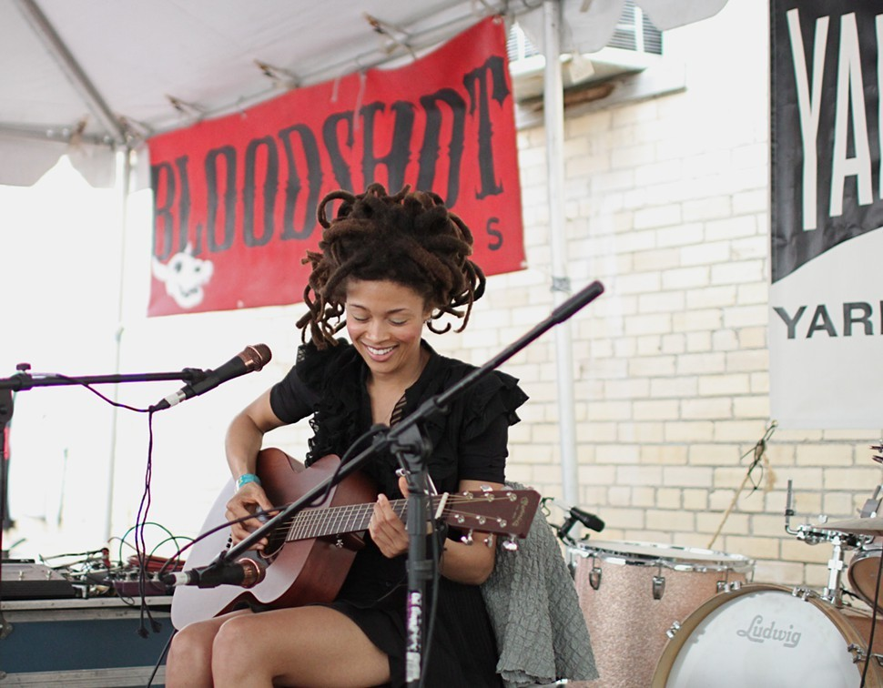 Valerie June is putting the finishing touches on a debut album featuring the Black Keys Dan Auerbach and Booker T. Jones.