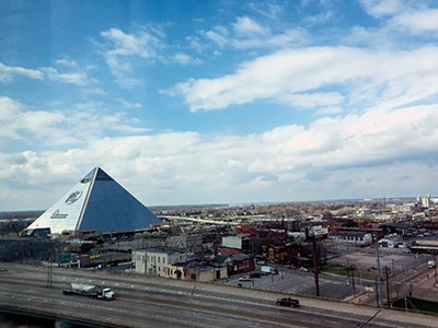 View of the Pyramid and Pinch District