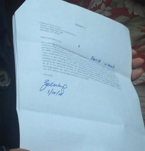 Wamp's signed copy - JB