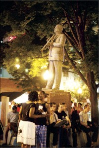 W.C. Handy statue - BY JUSTIN FOX BURKS