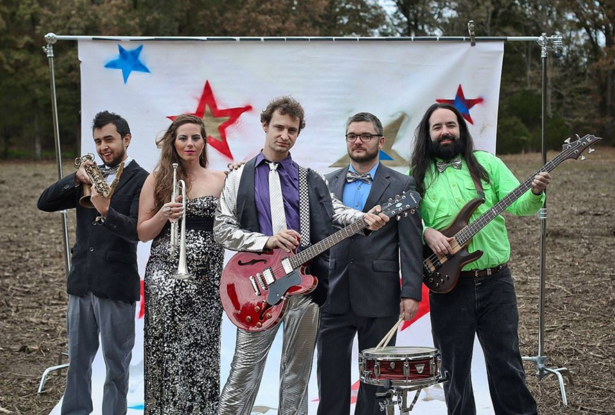 The Zigadoo Money Clips play Sunday night at Lafayette's Music Room. - AMURICA.COM