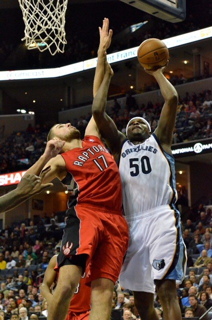 Welcome to the league, rook: Zach Randolph, Man of the Match