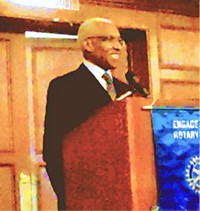 Wharton at Rotary