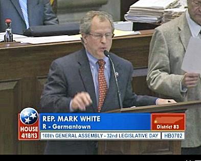 White Pfesenting Authorizer Bill
