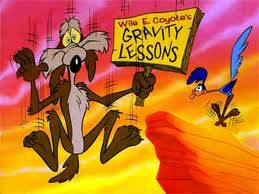 Wilie E. Coyote in action