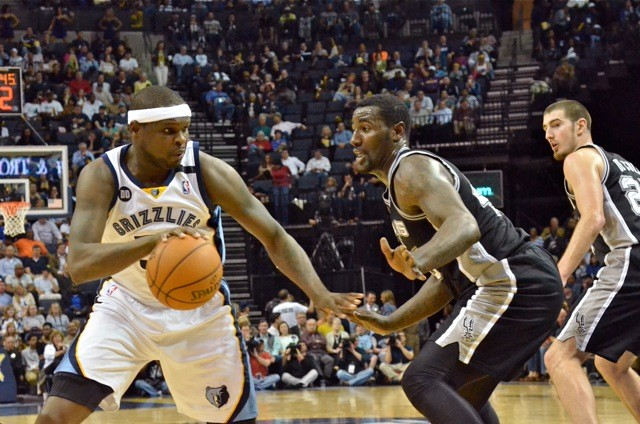 Will Zach Randolph have a bounce-back game agaisnt the Spurs tonight?