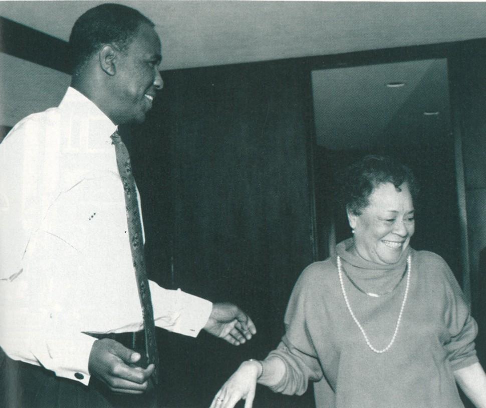 Willie Herenton and Maxine Smith