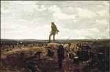 """Winslow Homer's Defiance: Inviting a Shot Before Petersburg (1864), on loan to the Dixon for the exhibit """"Bold, Cautious, True: Walt Whitman and American Art of the Civil War Era"""""""