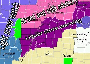 Winter is Here. Be Very Afraid, Memphis!