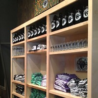 Sneak Peek at Wiseacre Brewing Company Wiseacre will begin selling growlers, t-shirts, hats and glasses on Friday, August 30th.