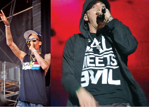Wiz Khalifa and Eminem
