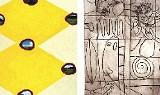 Works by Hamlett Dobbins and Adolph Gottlieb - Adolph Gottlieb image: Adolph and Estther Gottlieb Foundation/Licensed by Vaga, NY, NY, AEGF #4682P