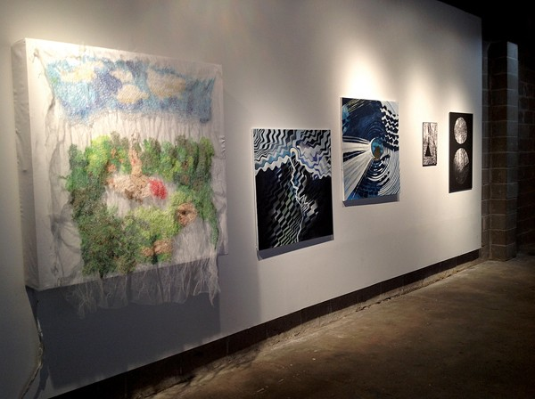 "Works by Megahn Vaziri, - Chandler Pritchett, and Stepahnie Cosby in ""Unchained II"""