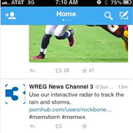 WREG Tweets Porn, Internet Responds