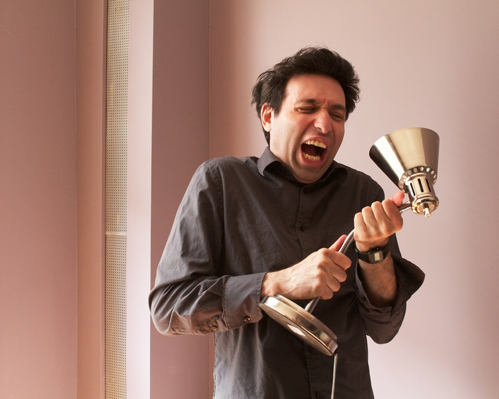 Writer-director Alex Karpovsky, from Red Flag, winner of Best Narrative Feature at this years Indie Memphis Film Festival.