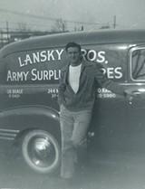 Young Bernard Lansky