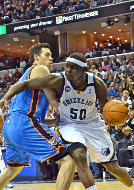Zach Randolph seems to have settled into a key cog, not the alpha dog.