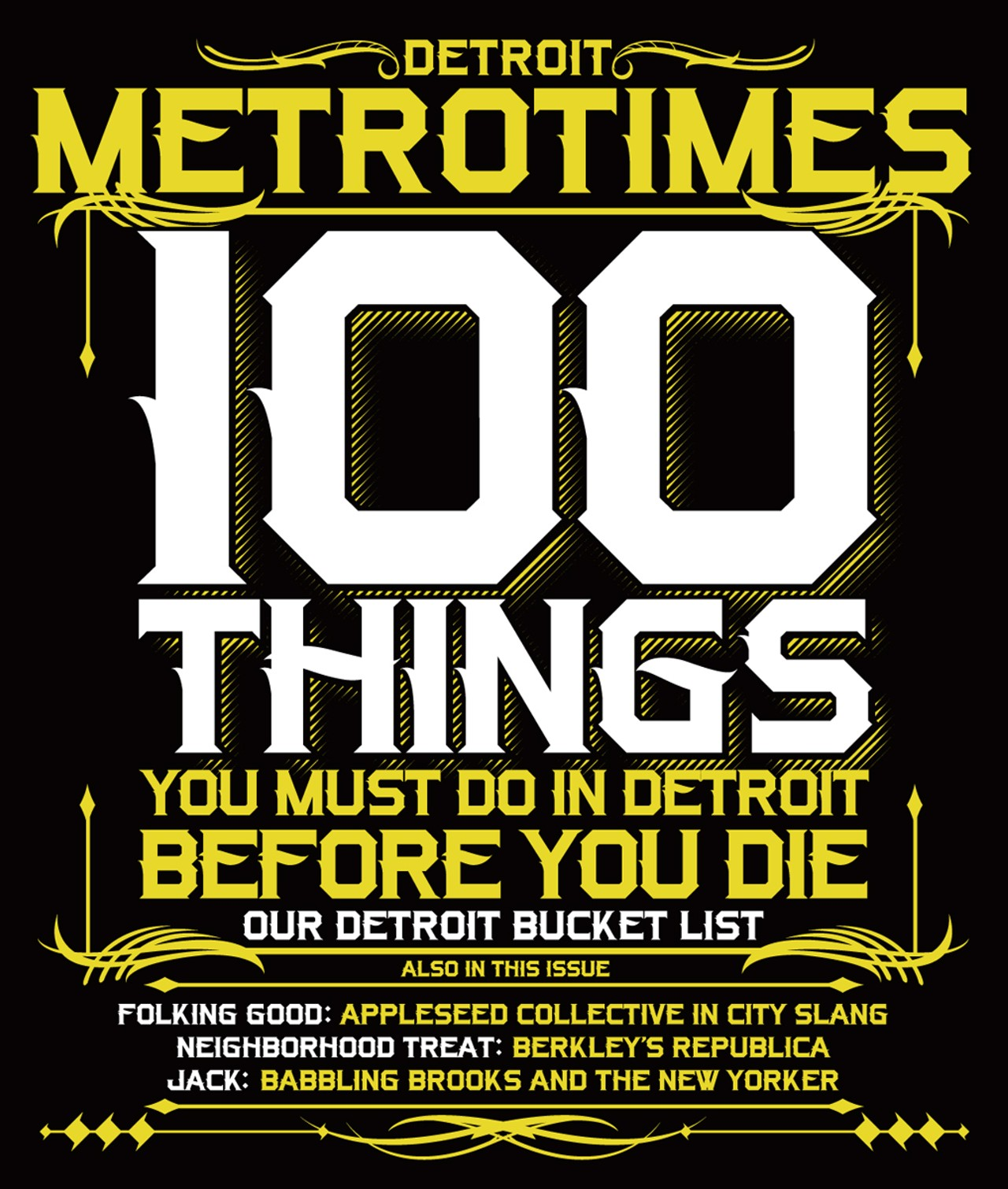 100 Things All Detroiters Should Do Before They Die
