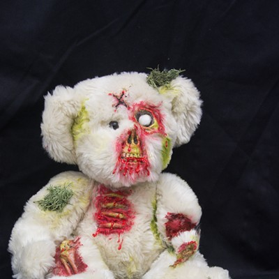15 Gruesome Scare Bears by Jay Langley