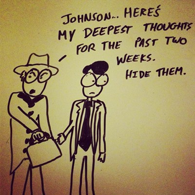 25 Cartoons from the High Strung's Josh Malerman
