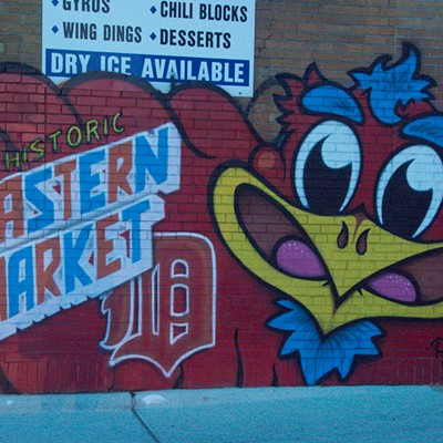 30 Images From Detroit Design Fest's Eastern Market After Dark