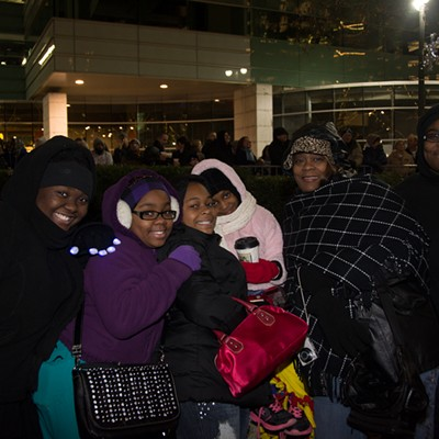 90 Pictures From Detroit's Tree Lighting Ceremony