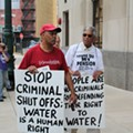 Protesters decry Detroit residential water shutoffs