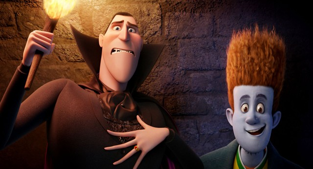 Adam Sandler is the voice of Dracula; Andy Samberg does party-crasher Jonathon.
