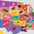 And the most widely distributed Halloween candy in Michigan is...