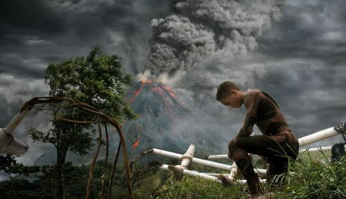 As Kitai, Jaden Smith is marooned in the barren, post-apocalyptic world that is M. Night Shyamalan's career.
