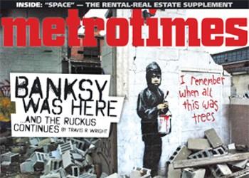 Banksy bombs Detroit