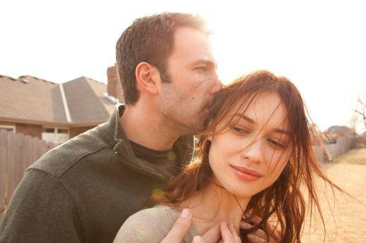 Ben Affleck and Olga Kurylenko are haunted by doubt in To the Wonder.