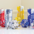 Ben Goraj makes art out of aluminum cans and blunt wrappers