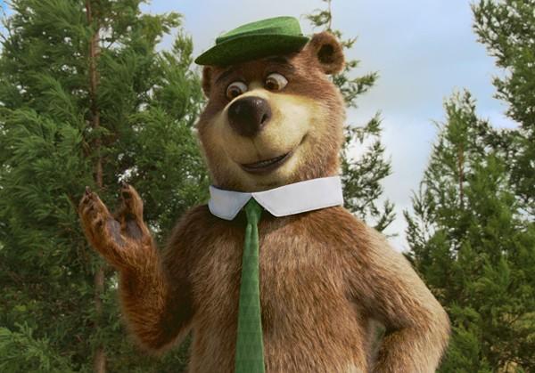 Big comeback: Dan Aykroyd is Yogi Bear.