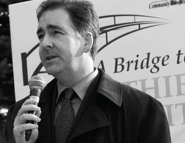 Brian Masse, a member of Canada's Parliament, is among those calling for the Michigan Legislature to hold a vote now on a proposed new Detroit River bridge.