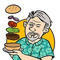 """Burger Quest: We try a """"B.F.J."""" at Dino's Lounge"""