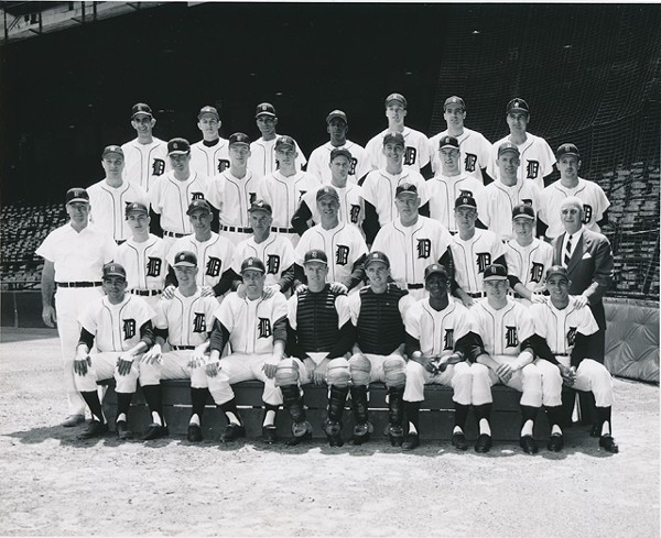 By early May, the team was in first place. - PHOTO COURTESY THE DETROIT TIGERS