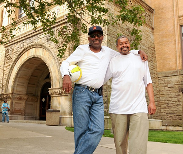 "Carter (l) and Bowman. Bowman knew ""people routinely die when on that transplant list."""