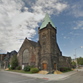 Cass Avenue Methodist Episcopal Church first dedicated 131 years ago today