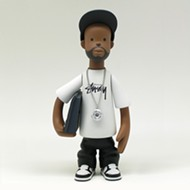 Check out this J Dilla toy Detroit artist Sintex worked on