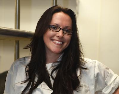 Chef Kate Williams - PHOTO COURTESY TANYA MOUTZALIAS