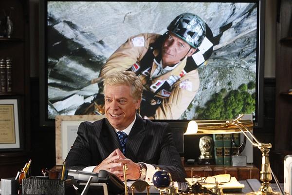 Chris McDonald is Tommy Jefferson on Harry's Law.