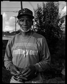 PHOTO BY GILLES PERRIN. - Cornell Kofi Royal — Master Gardener, Artist Village.
