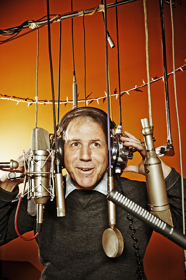 Dave Feeny: Sometimes he just lets things happen in the studio. Sometimes he has to make them happen. - DOUG COOMBE