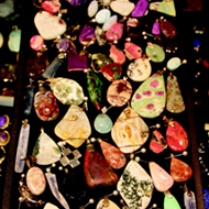 Detail: Julia's Jewels is your destination for rocks, fossils, gems and minerals at the Gibraltar Trade Center